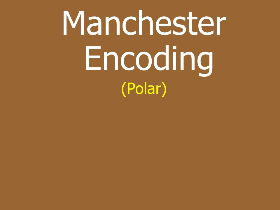Manchester Encoding (Polar)