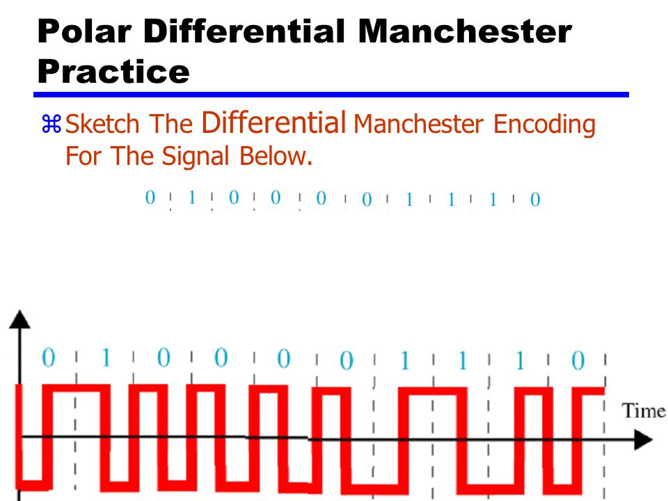 Polar Differential Manchester Practice