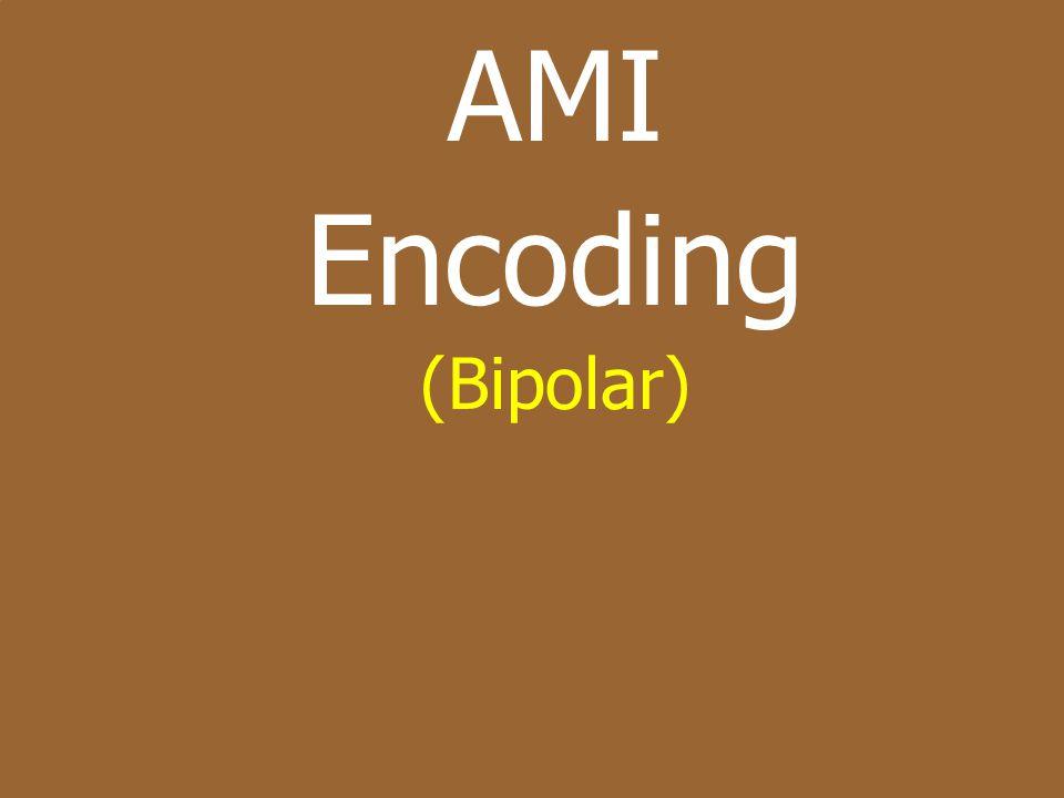 AMI Encoding (Bipolar)