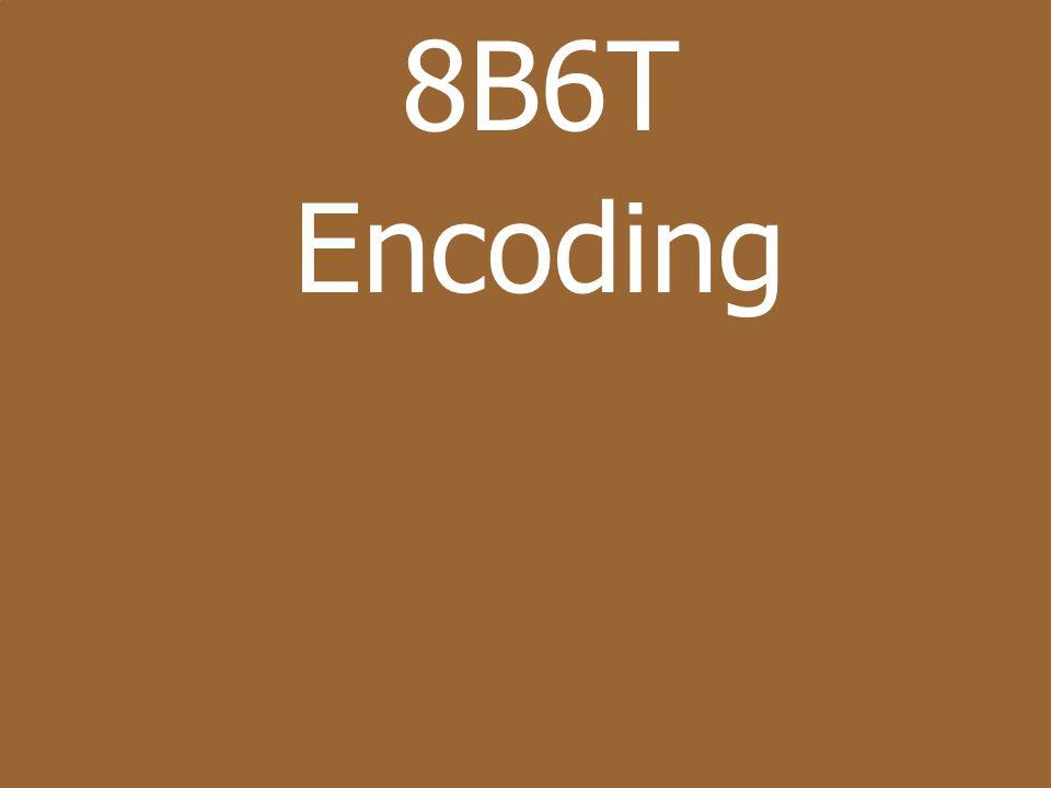 8B6T Encoding