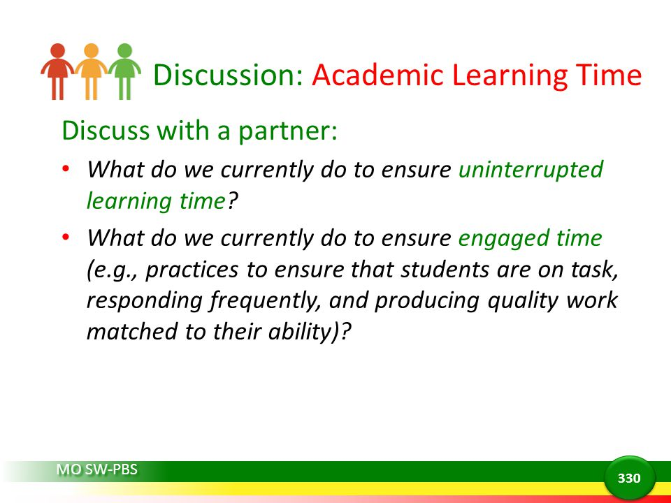 Discussion: Academic Learning Time