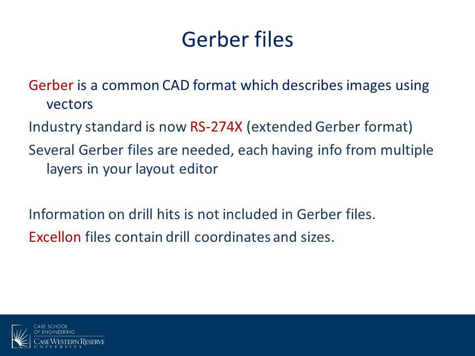 Gerber files