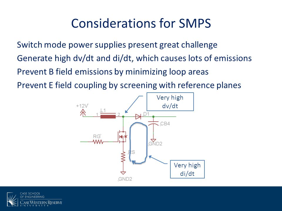 Considerations for SMPS