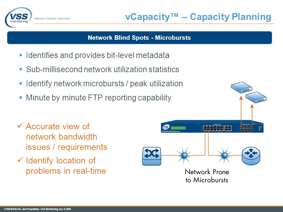 vCapacity™ – Capacity Planning