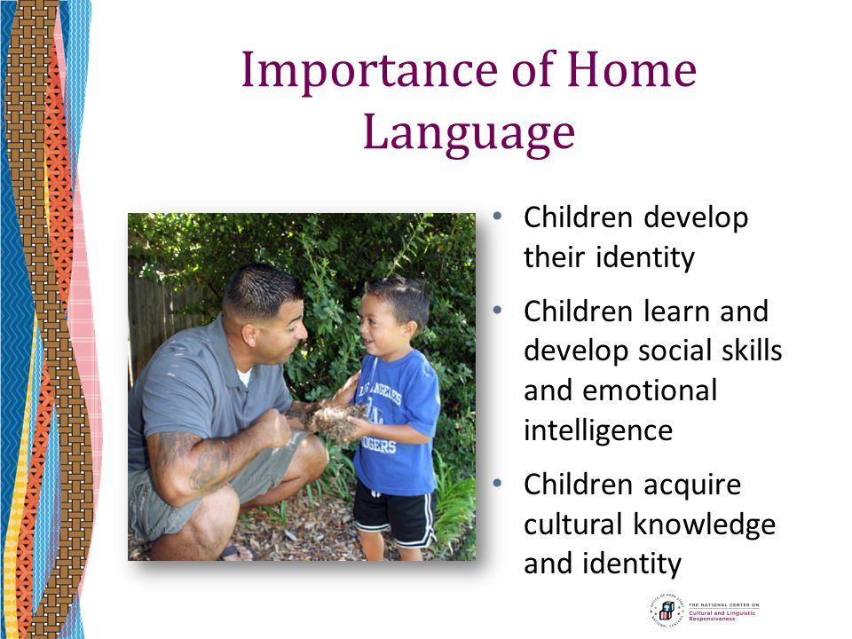 Importance of Home Language
