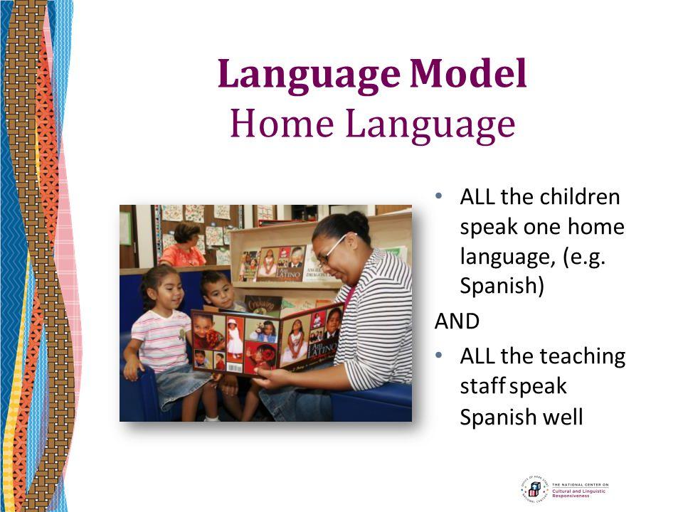 Language Model Home Language