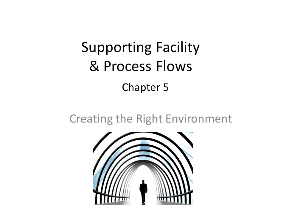 Supporting Facility & Process Flows