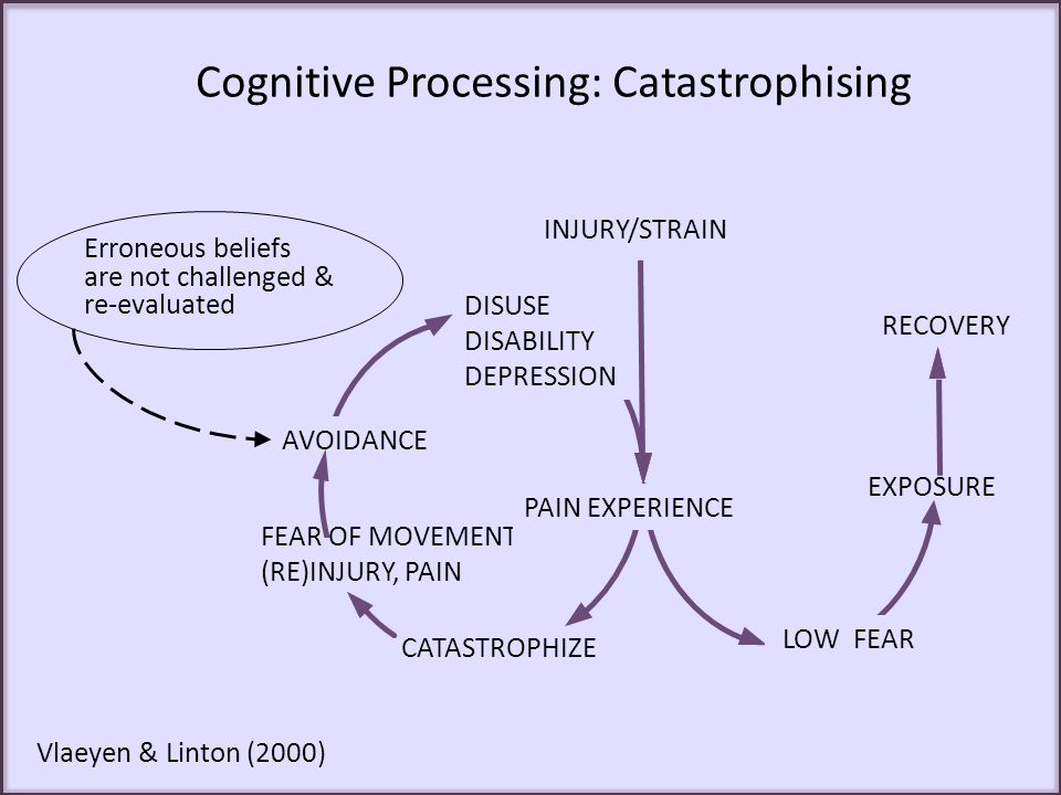 Cognitive Processing: Catastrophising