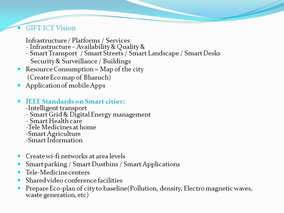 GIFT ICT Vision Security & Surveillance / Buildings