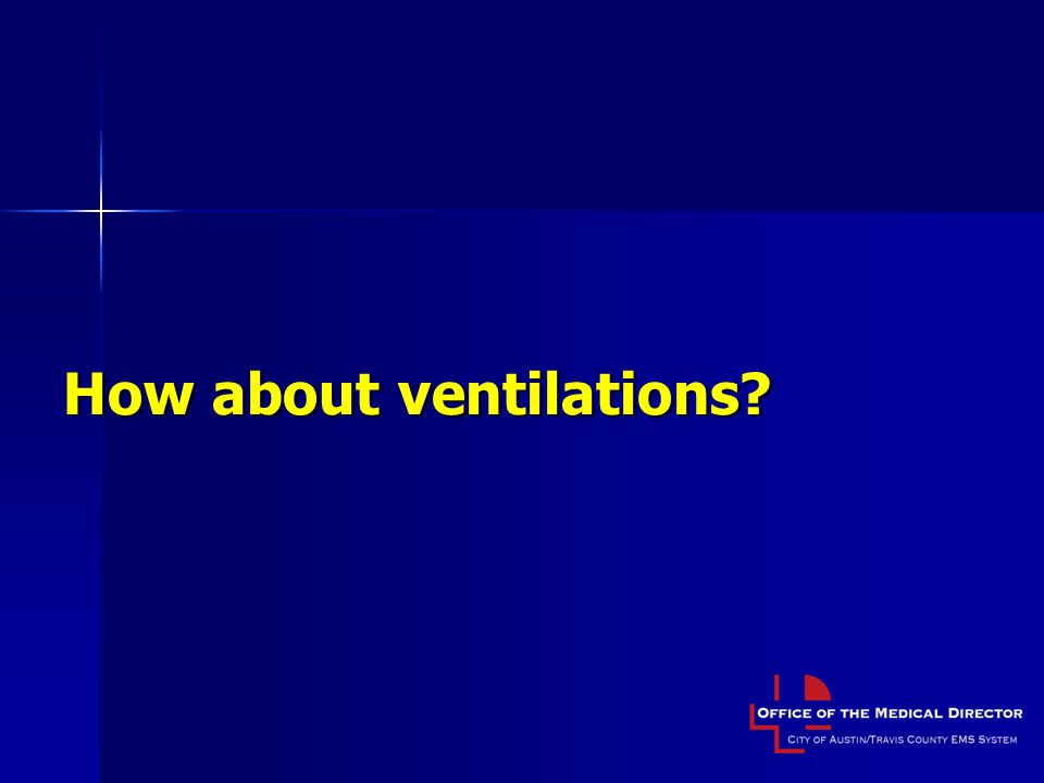 How about ventilations