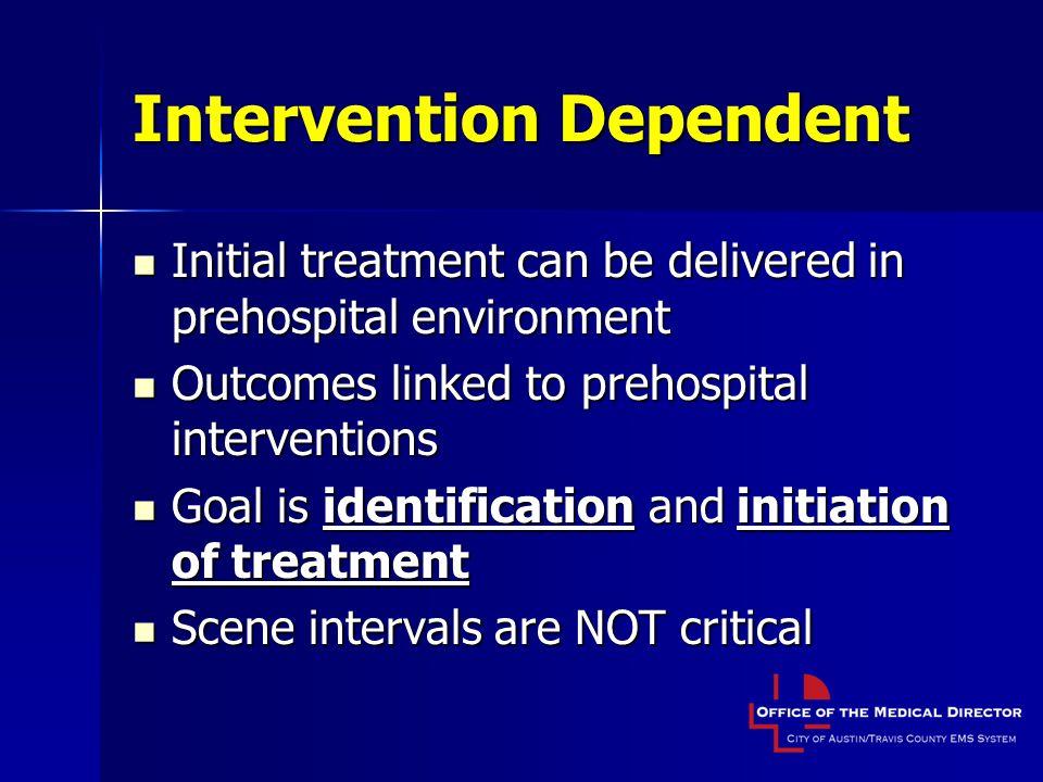 Intervention Dependent