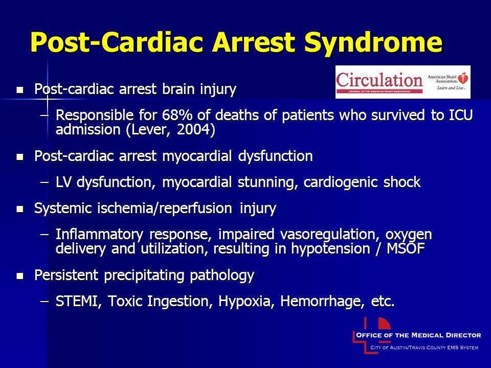 Post-Cardiac Arrest Syndrome