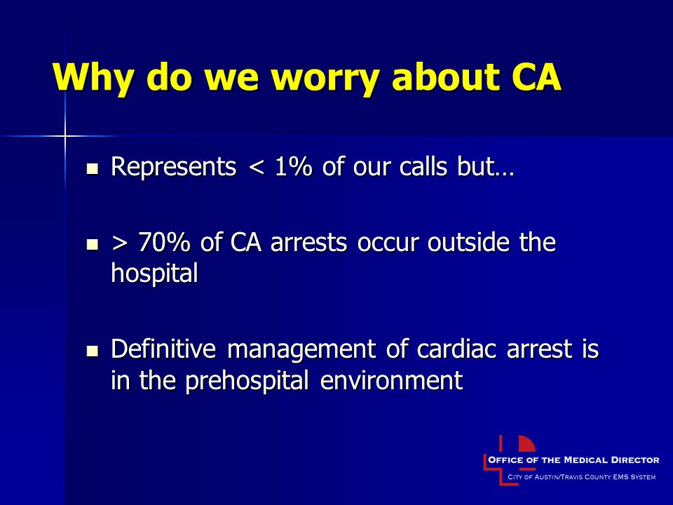 Why do we worry about CA Represents < 1% of our calls but…
