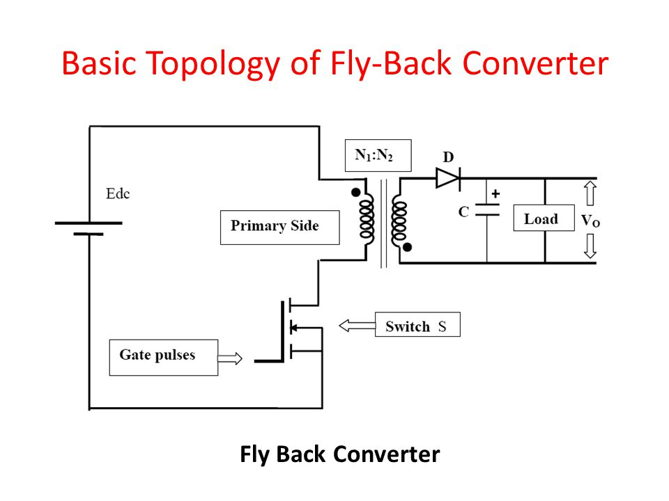 Basic Topology of Fly-Back Converter