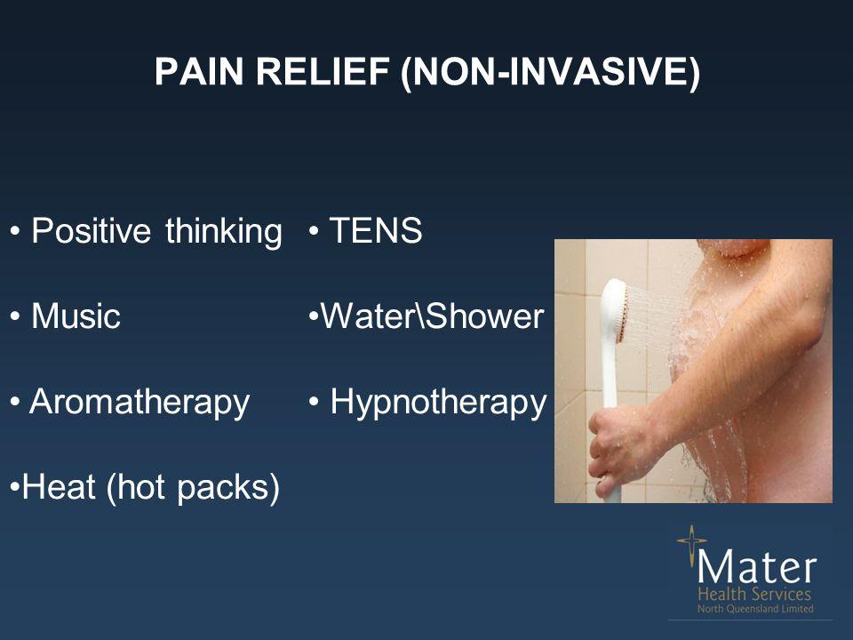PAIN RELIEF (NON-INVASIVE)