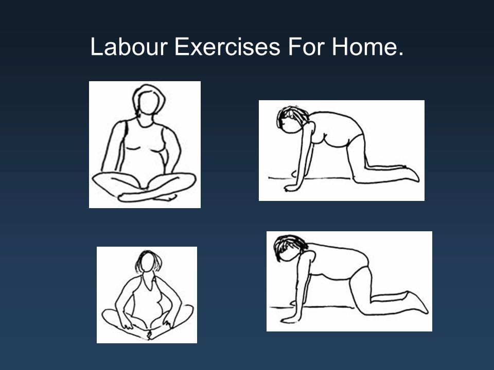Labour Exercises For Home.