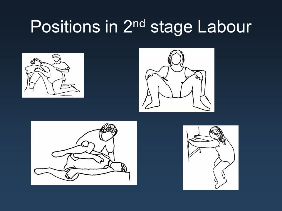 Positions in 2nd stage Labour
