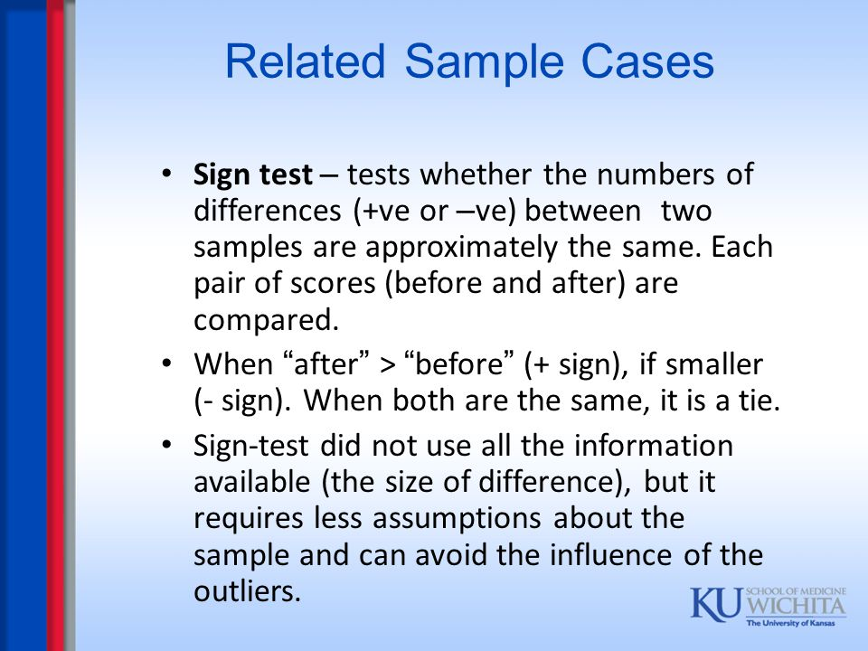 Related Sample Cases