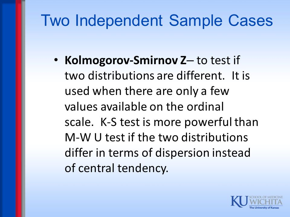 Two Independent Sample Cases