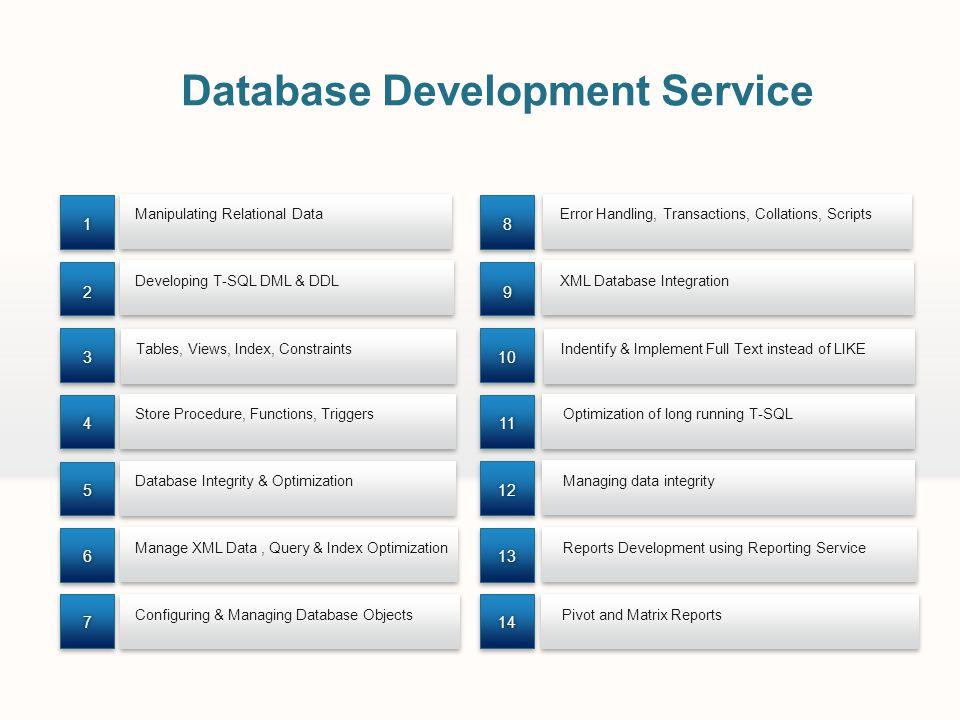 Database Development Service