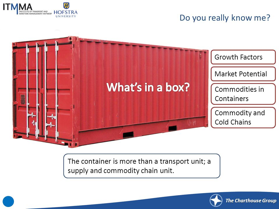 Growth Factors for Containerization