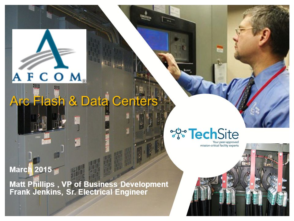 Arc Flash & Data Centers