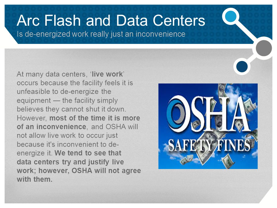 Arc Flash and Data Centers