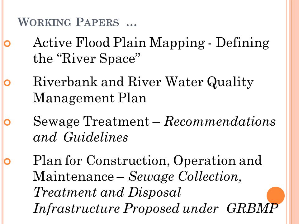 Active Flood Plain Mapping - Defining the River Space