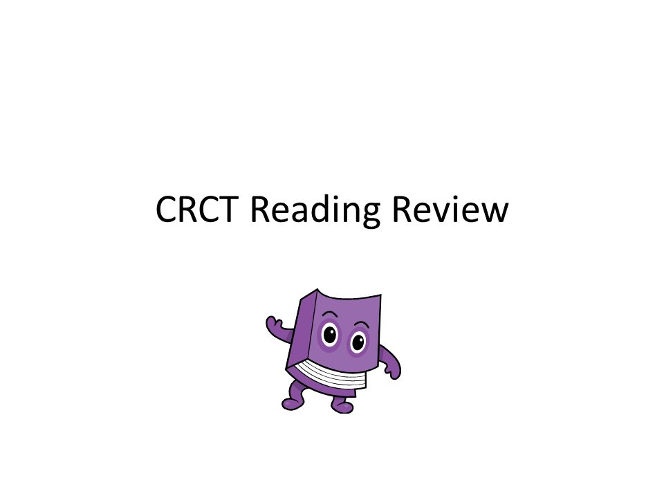 CRCT Reading Review