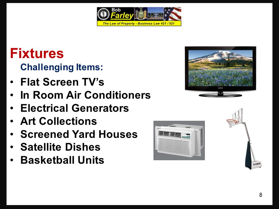 Fixtures Flat Screen TV's In Room Air Conditioners