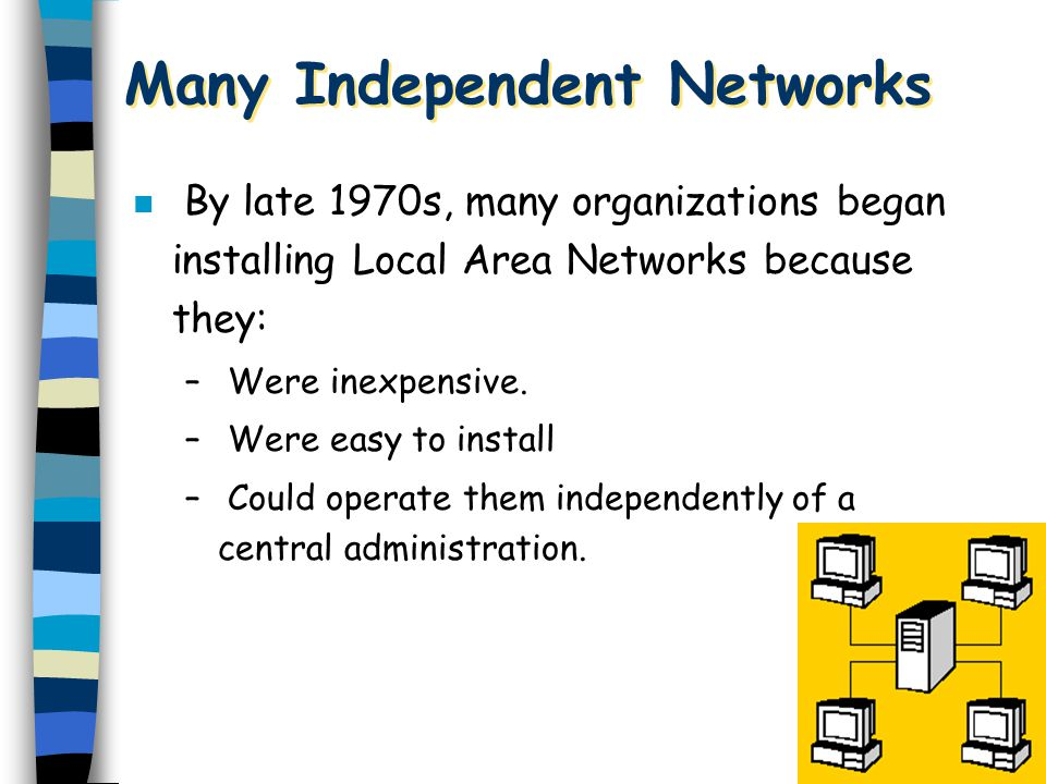 Many Independent Networks