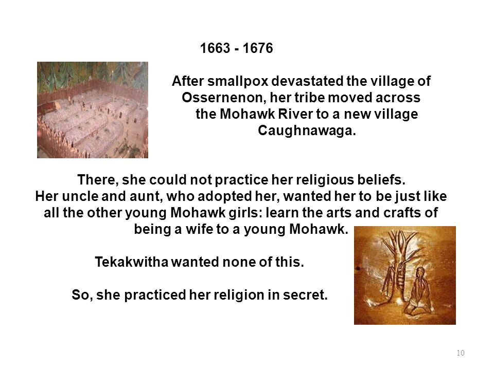 After smallpox devastated the village of
