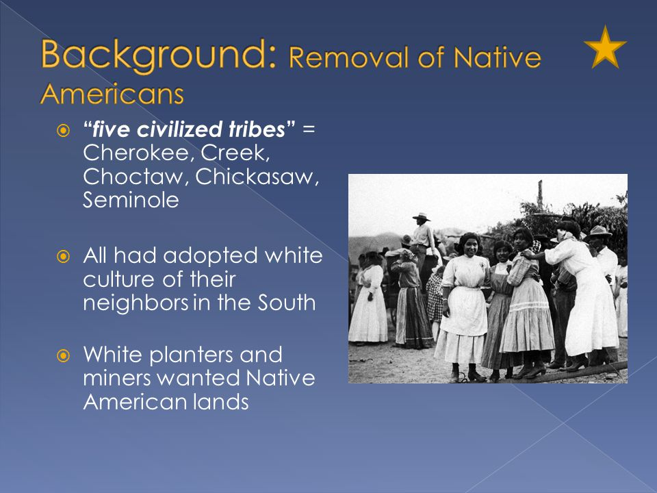 Background: Removal of Native Americans