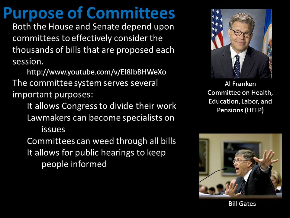Committee on Health, Education, Labor, and Pensions (HELP)
