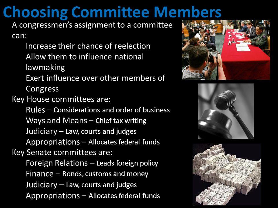 Choosing Committee Members