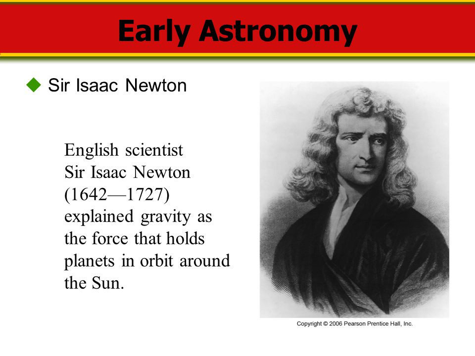 gravity isaac newton and astronomy - photo #19