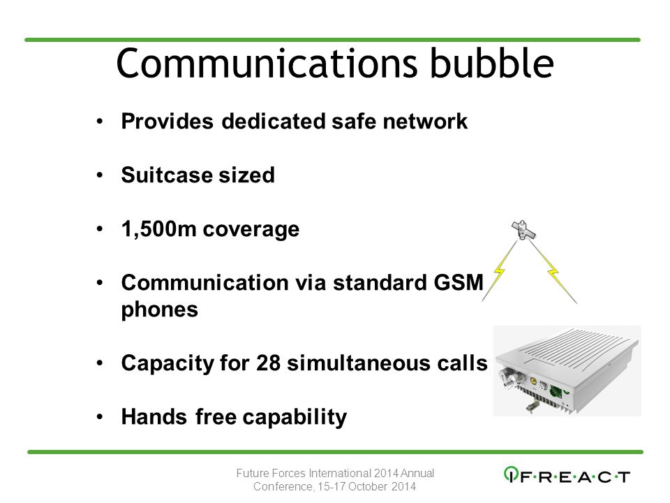Communications bubble