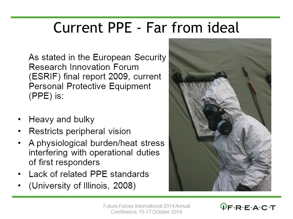 Current PPE - Far from ideal