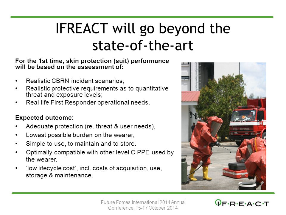 IFREACT will go beyond the state-of-the-art