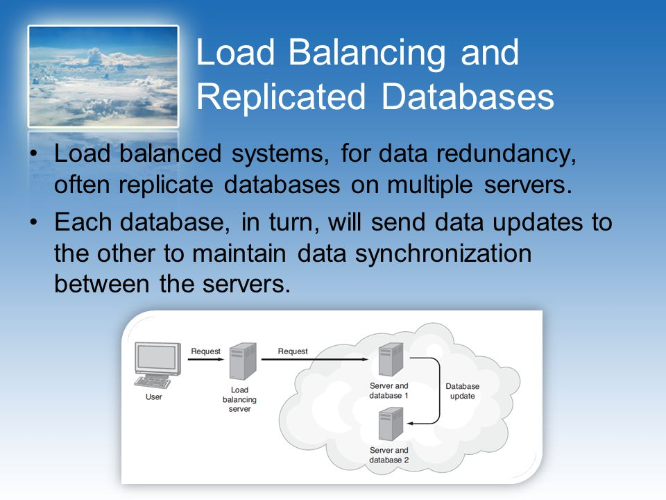 Load Balancing and Replicated Databases