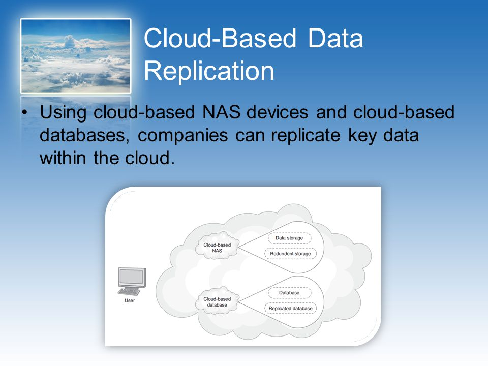 Cloud-Based Data Replication