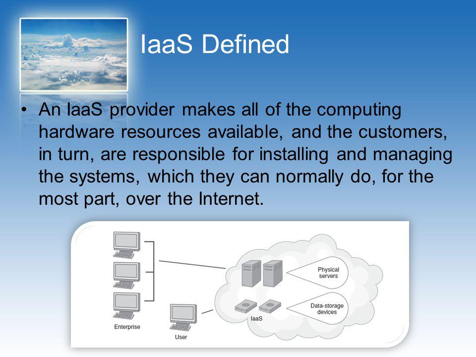IaaS Defined