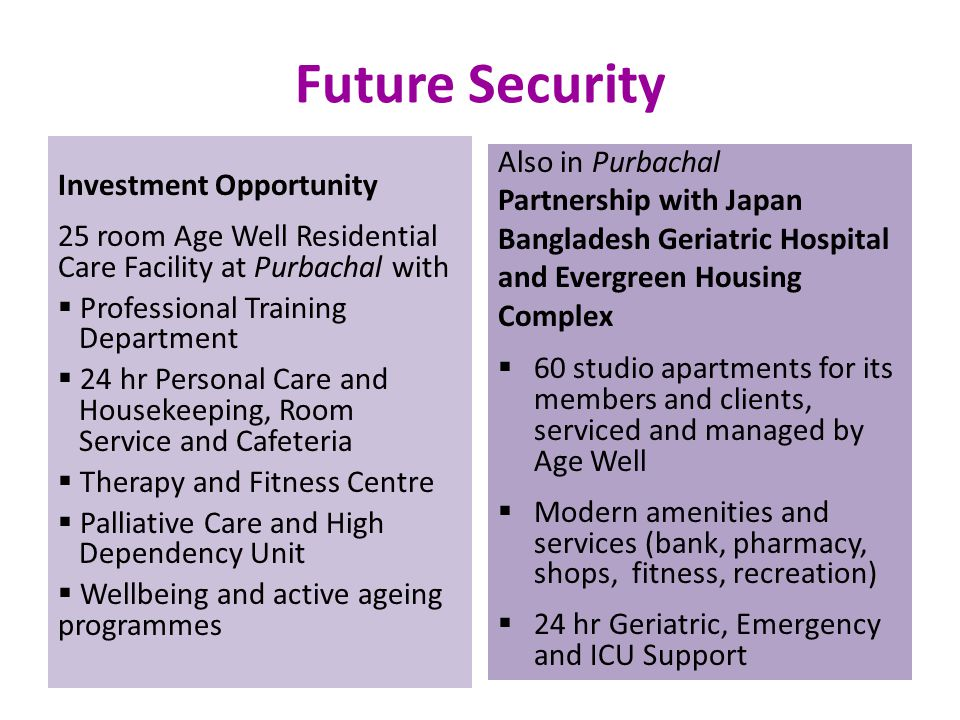 Future Security Also in Purbachal Investment Opportunity