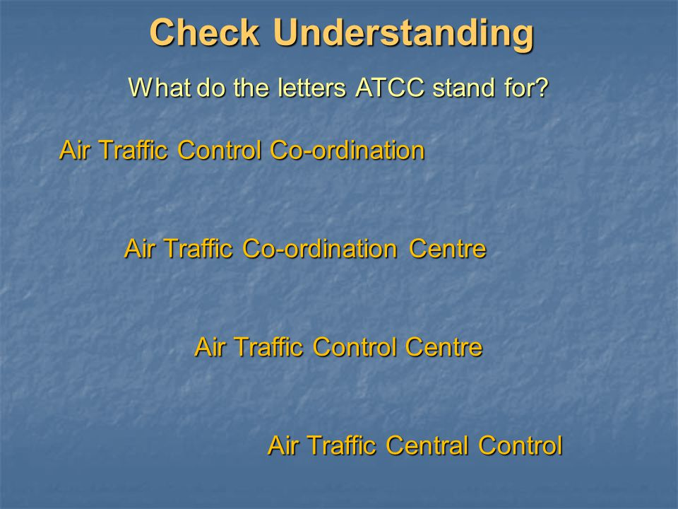 What do the letters ATCC stand for