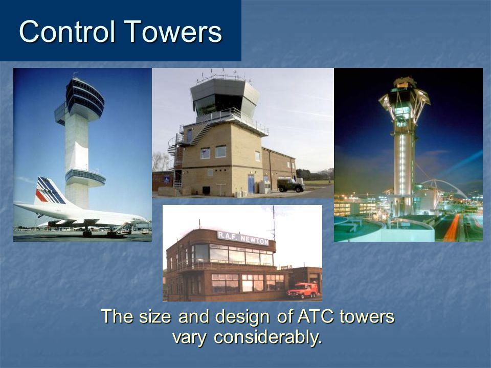 The size and design of ATC towers
