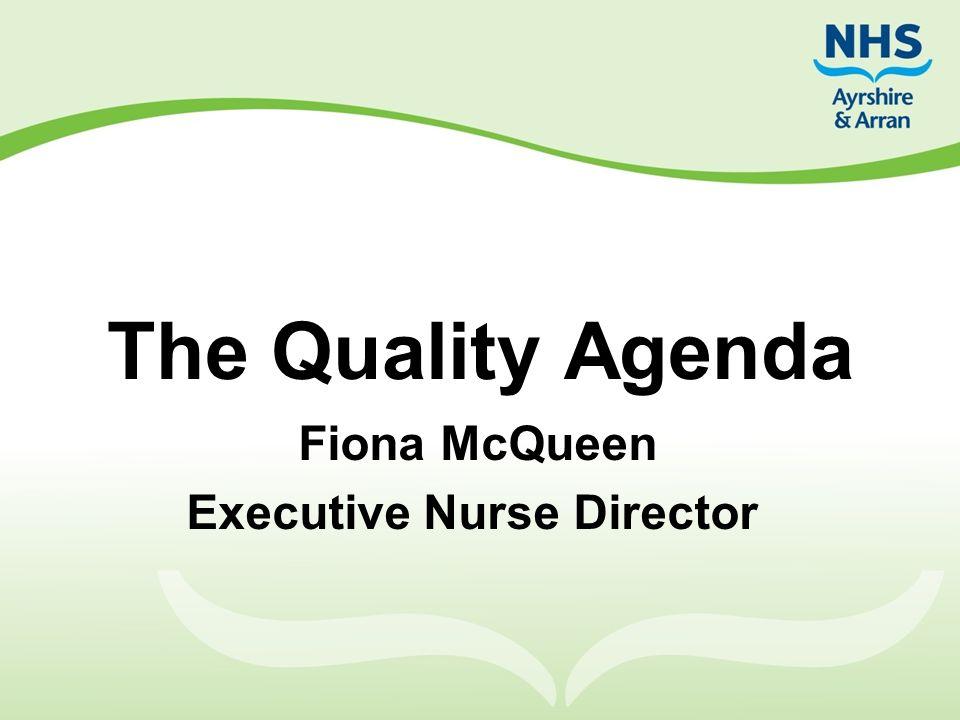 Fiona McQueen Executive Nurse Director