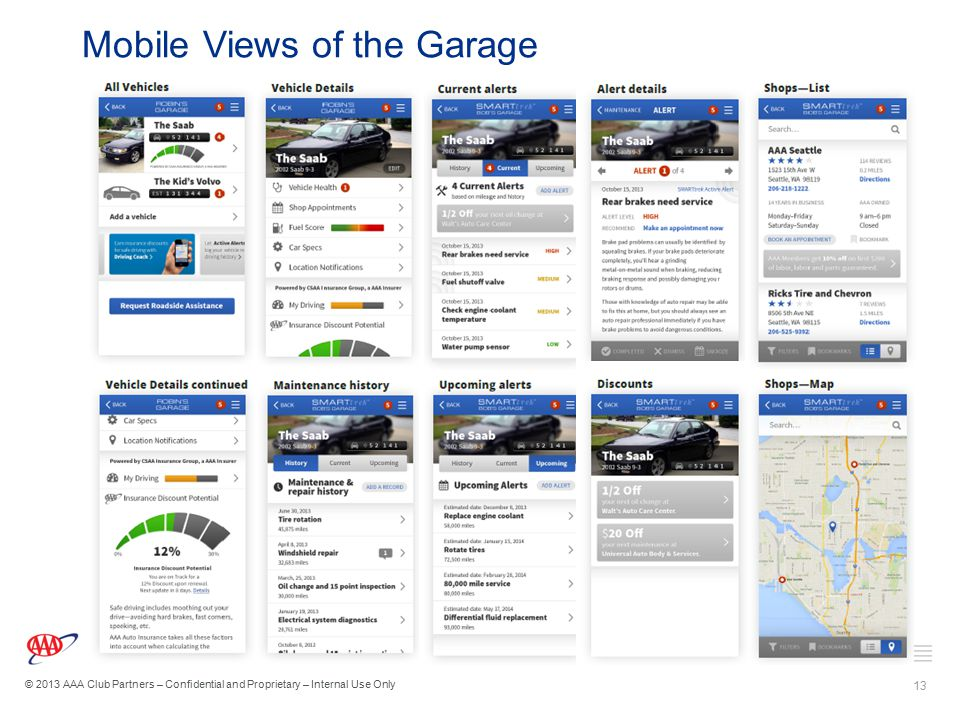 Mobile Views of the Garage