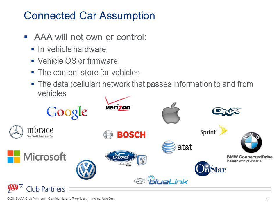 Connected Car Assumption
