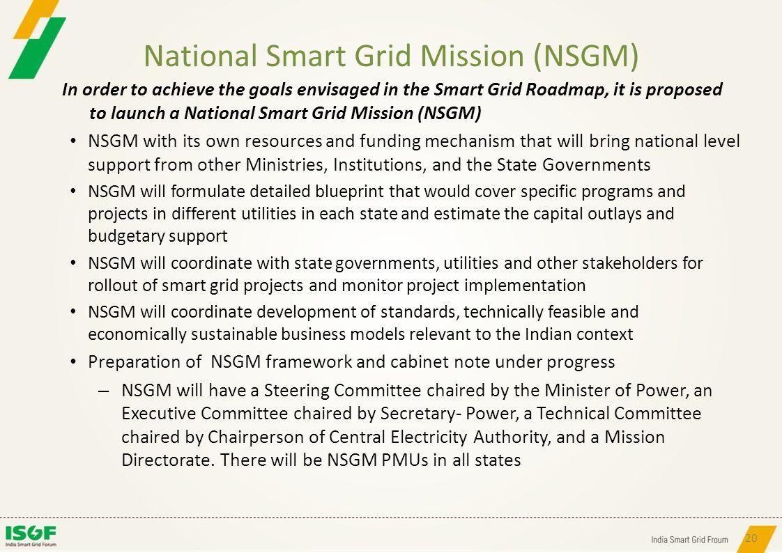 National Smart Grid Mission (NSGM)