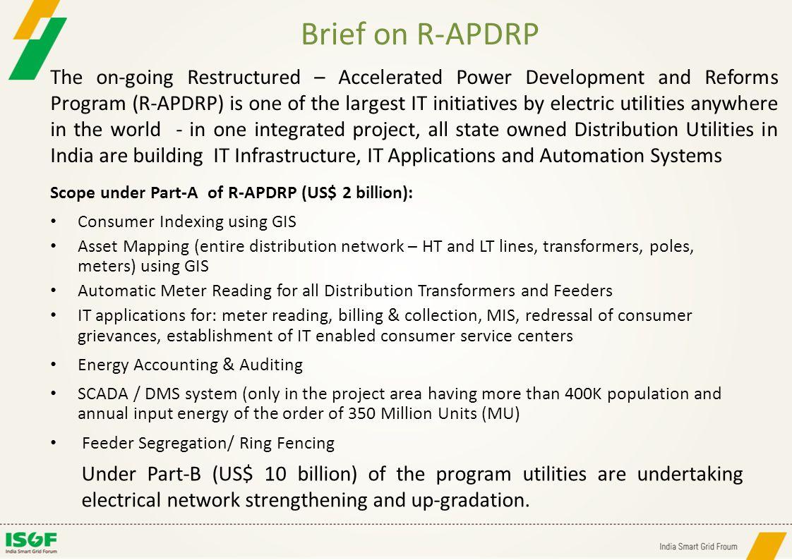 Brief on R-APDRP